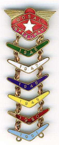 Odsal badge