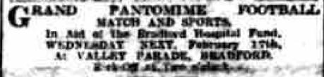 1909-02-13 BDT advert for panto match