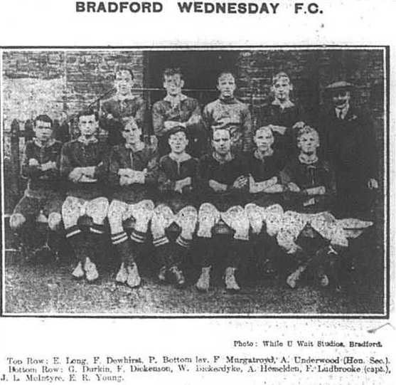 Bfd Wednesday AFC 1913