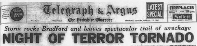 Tornado Headline