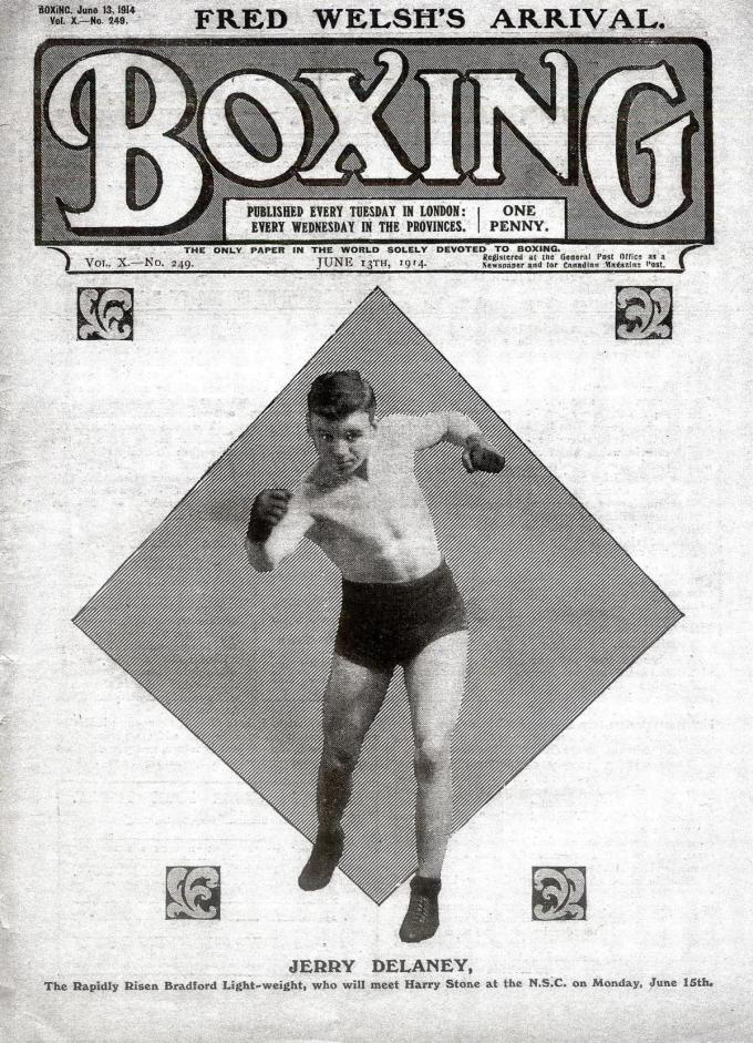 Boxing news Jerry Delaney
