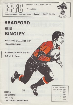 Bradford RFC 1974 x