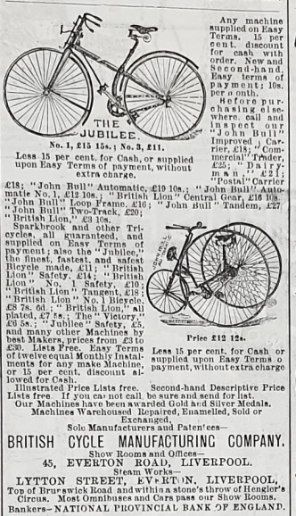 1887-07-28 Yorkshireman bike adverts 2
