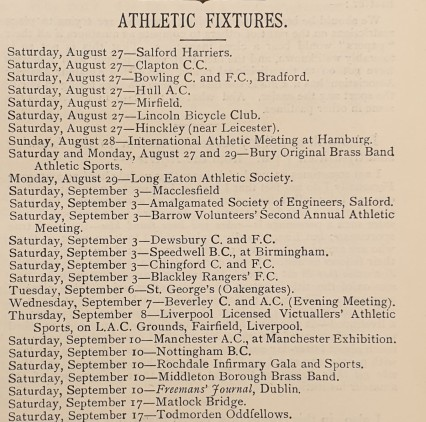 Black & White magazine  - 1887-08-26 list of forthcoming athletics festivals.jpg