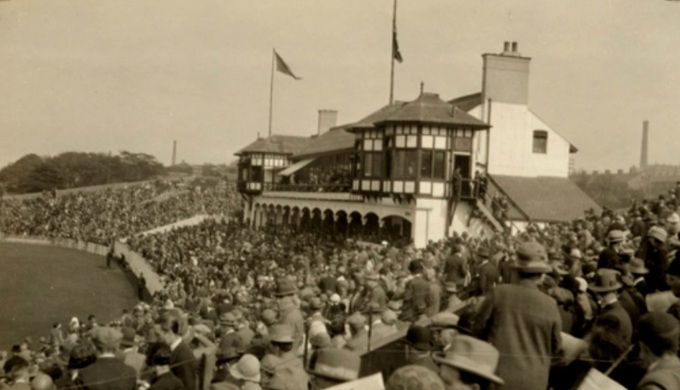 Park Avenue 1926 Yorkshire v Australians